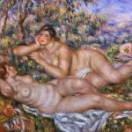 Painting Renoir Finely Detailed Strokes