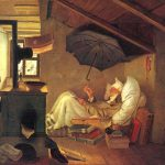 Painting The Famous Artist Carl Spitzweg