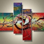 Paintings Canvas Sets Wall Art Pieces Acrylic