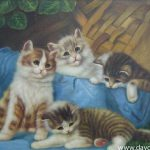 Paintings For Sale Cat Portraits Jpeg Courtesy