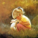 Paintings Heartwarming Hood Innocence Little Ren