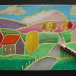 Pastel Landscapes Famous Artists Afaithfulattempt Blogspot