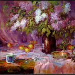 Pic Oil Painting Styles Canvas Impressionism Impression Flowers