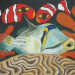 Picasso Fish Painting Fine Art Print