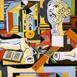 Plaster Head And Arm Pablo Picasso Painting