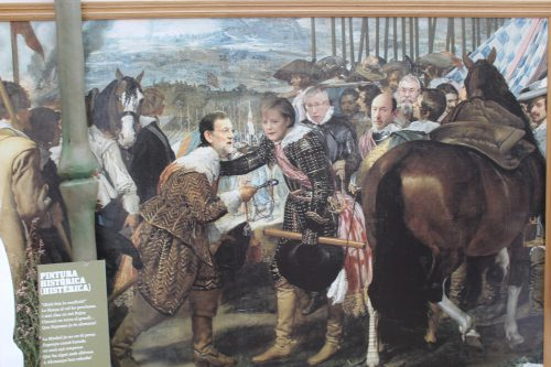 Play Famous Velazquez Painting The Surrender Breda