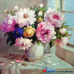 Product Name Impressionistic Flower Oil Painting