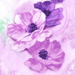Purple Flower Paintings For Web Search