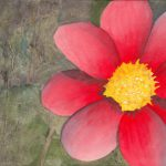 Red Flower Painting Fine Art Print