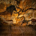 Replica Lascaux Cave Painting Bull And Horse