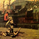 Roman Fight Famous Painting