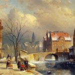 Romantic Painter Style Fine Art Painting Urban Landscapes