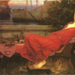 Romanticism Style Fine Art Painting Mythological Viewed