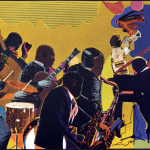 Romare Bearden Out Chorus Etching And Aquatint Courtesy