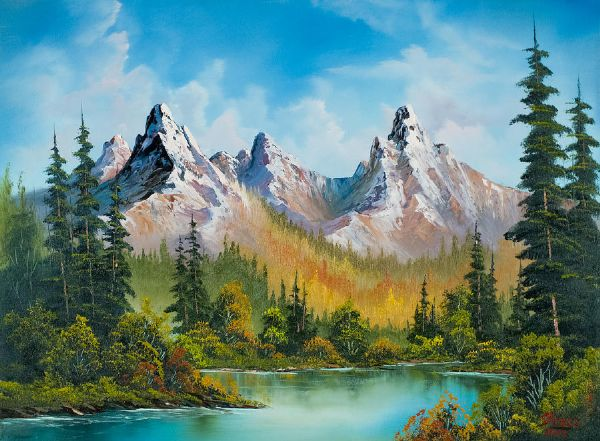 Ross Autumns Magnificence Paintings For Sale Bobross