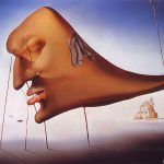 Salvador Dali Abstract Painting Art