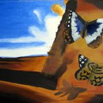 Salvador Dali Butterfly Painting Nershadow Deviantart Art
