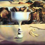 Salvador Dali Painter Surrealism Picture Phenomenon The Face And