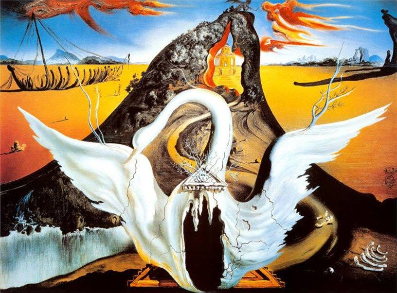 Salvador Dali Paintings Bacchanale Painting