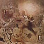 Salvador Dali Paintings Maelstrom Painting