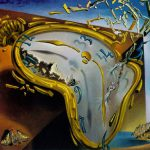 Salvador Dali Paintings Melting Watch Painting