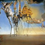 Salvador Dali Paintings The Temptation Anthony