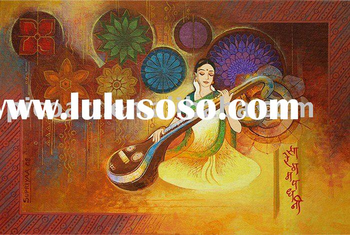 Secwholesale Indian Abstract Art Painting Products Sold The Company