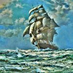 Ship The Ocean Paintings