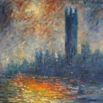 Shopping Claude Monet London The Houses Parliament Painting