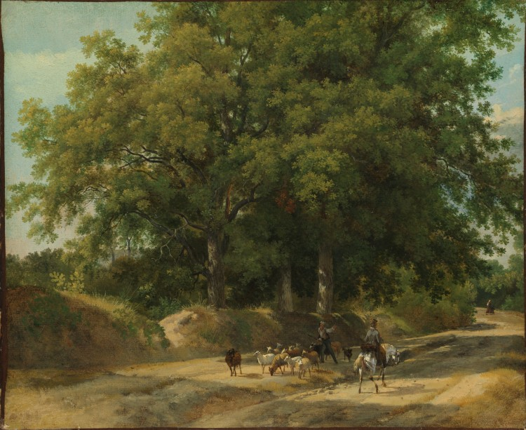 Small But Impactful French Oil Sketches The Met