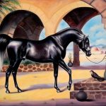 Specification Arabian Horse Paintings The