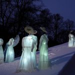 Spooky Ice Sculptures Inspired Edvard Munch Famous Painting