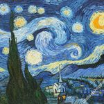 Starry Night Vincent Van Gogh Oil Painting Landscape Canvas Wall Art