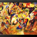 Study For Komposition Vii Wassily Kandinsky Painting Canvas