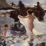 Sun But Substance Lawrence And Joaqu Sorolla