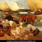 Sun Joaquin Sorolla Bastida Most Famous Paintings