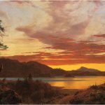 Sunset Canvas Offer Handmade Reproduction