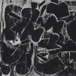 That Too Black And White Kooning Exhibition