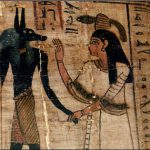 The Ancient Egyptian Hieroglyphics Above Picture Reads