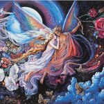 The Angel Canvas Paintings Oil Painting Decoration Picture Frameless