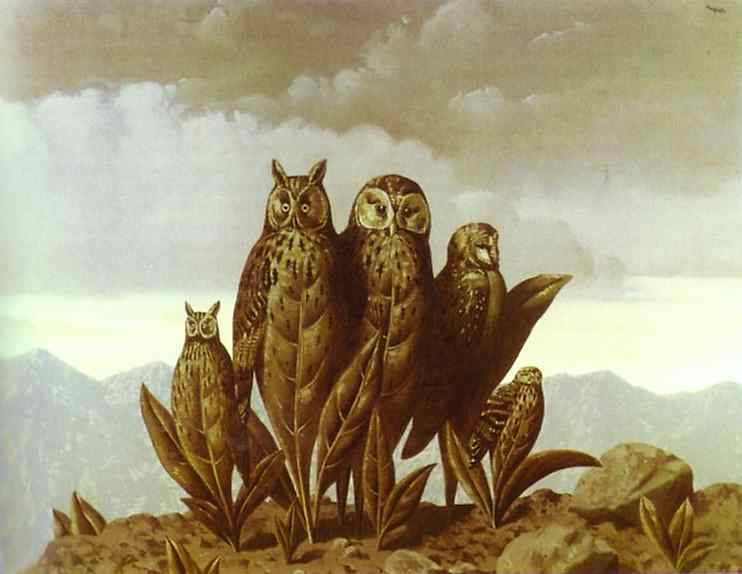 The Companions Fear Oil Canvas Private