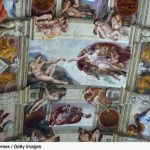 The Famous Fresco Michelangelo Ceiling Sistine Chapel