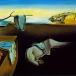 The Famous Painting Salvador Dali And Now Paints