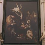 The Nativity Saints Francis And Lawrence Caravaggio