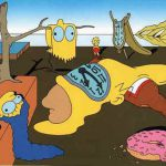 The Simpsons Dali Style Salvador