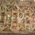 The Sistine Chapel Ceiling Paintings Michelangelo Wikipedia