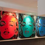 The Three Large Canvas Contemporary Art Paintings Marilyn Monroe