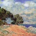 The Tree Painting Claude Monet