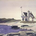 The Watercolors Present Approach Very Different Fromthat Hopper
