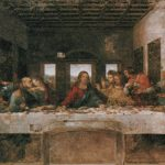 This Painting The Last Supper Leonardo Vinci One
